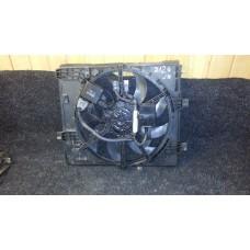 21483-1KC0A Диффузор вентилятора радиатора двигателя JUKE б/у