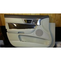C2Z8796RGH Обшивка передней левой двери 8x23-5423713-E Jaguar XF б/у