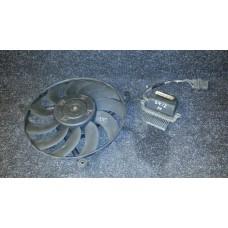 3D0805588E  Диффузор вентилятор радиатора не рабочий Phaeton б/у