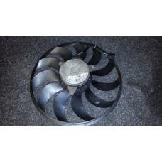 21487-JK60C  Моторчик вентилятора с крыльчаткой правый Q40/50/60/70/M QX50 EX QX70 FX   б/у