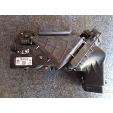 3D0819509A Корпус отопителя, воздуховода в полу правый, нагреватель в сборе 3D0819874C Phaeton б/у