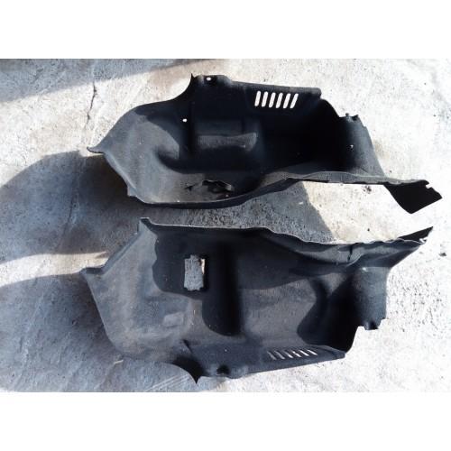 C2Z12249 Обшивка багажника левая правая комплект 8X23F45422AK 8X23F45423AK Jaguar XF XJ XK б/у